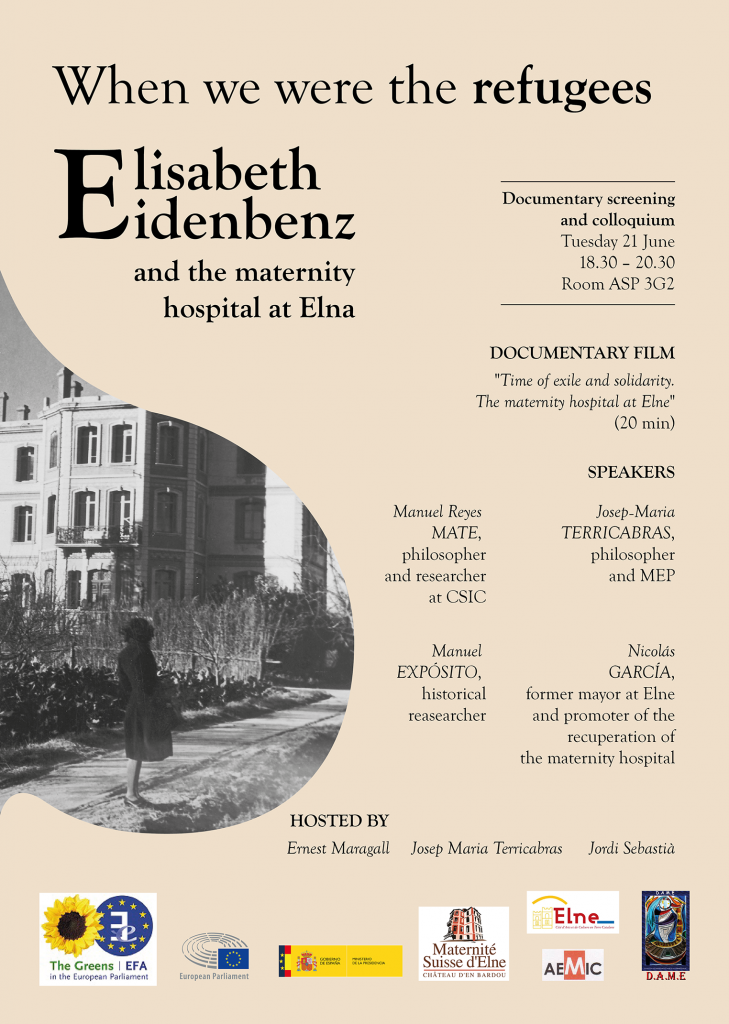 Colloquium_When we were the refugees Elisabeth Eidenbenz and the maternity hospital at Elna