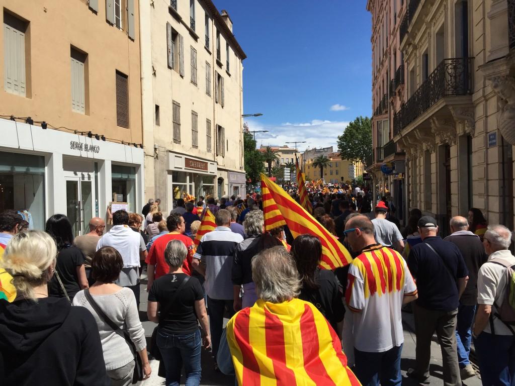 manif oui au pays catalan 180616.